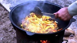 Pilafs in Tashkent. Family pilaf. How Uzbek families cook pilaf.