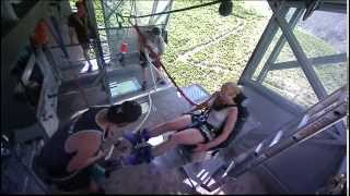 Lisbeth's 134 Meters Bungyjump