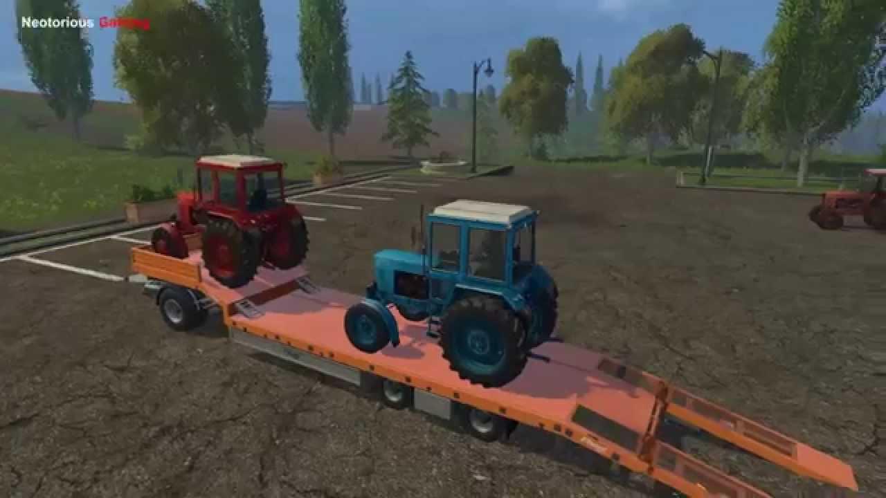 MTZ Belarus Pack mod for Farming Simulator 2015 / 15 | FS
