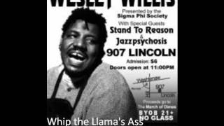 Wesley Willis - Whip the Llama's Ass