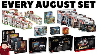 EVERY LEGO Set Releasing August 2020