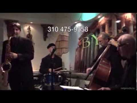Sharon Marie Cline and The Bad Boyz of Jazz Rich Eames-Keyboard Adrian Rosen-Bass Bram Glik-Saxophone Jonn Stuart -- Drums