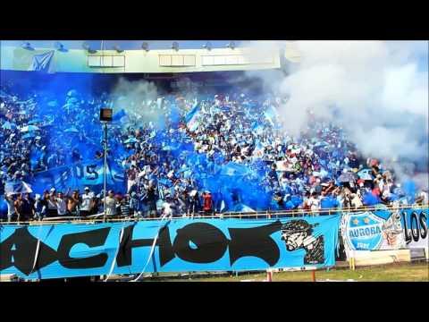 """""""Recibimiento Califachos 14 Club Aurora Final de Campeonato"""" Barra: Los Califachos 14 • Club: Aurora"""