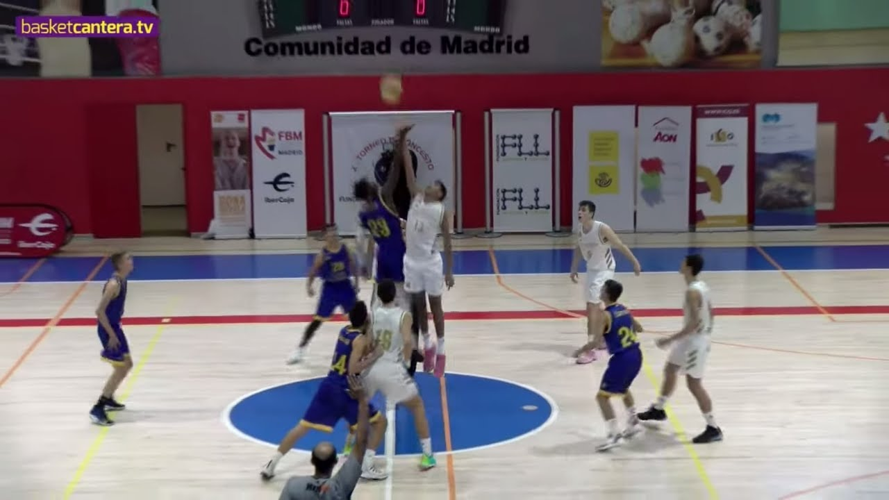 Directo - U15M - GRAN CANARIA vs REAL MADRID - FINAL Torneo FLL 2019 (BasketCantera.TV)
