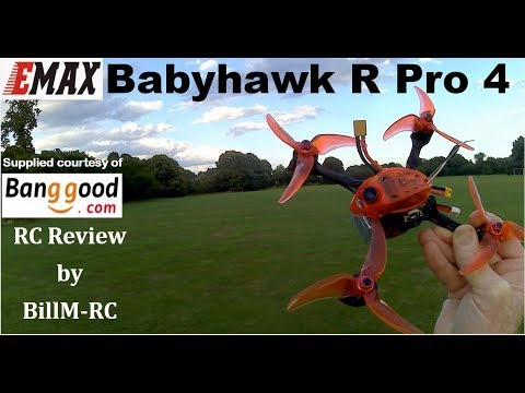 Emax BabyHawk R PRO 4 review by BillM-RC