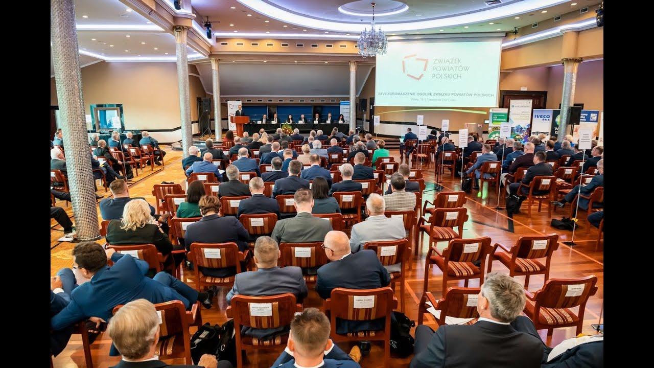 XXVII Zgromadzenie Ogólne Związku Powiatów Polskich, 16-17 września 2021 r. - reportaż podsumowujący