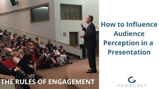 How to influence audience perception in presentations