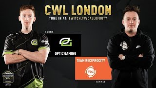 Optic Gaming vs Team Reciprocity | CWL London 2019 | Day 1