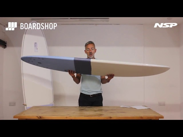 NSP Elements Funboard Surfboard Review