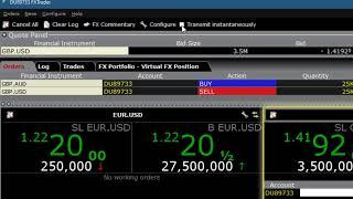 Trading Forex using TWS FXTrader