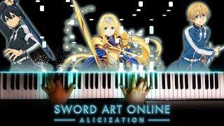 "[Sword Art Online: Alicization OP] ""ADAMAS"" - LiSA (Piano)"