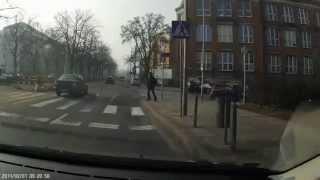 preview picture of video 'Bad drivers 2 / kiepscy kierowcy - Szczecin'