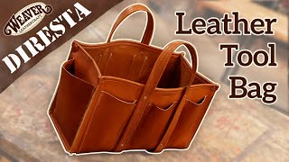 Jimmy DiResta Leather Tool Bag