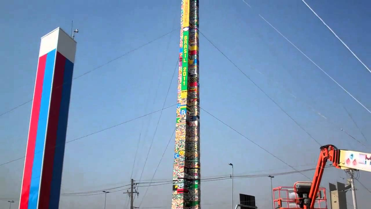 What Are You Supposed To Do With The World's Largest Lego Tower