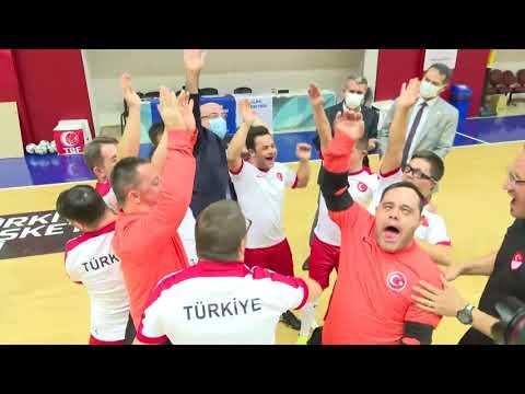 Üniversitemizden Down Sendromlular Futsal Milli Takımımıza Destek