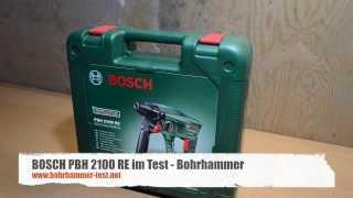 Bosch PBH 2100 RE Bohrhammer Test