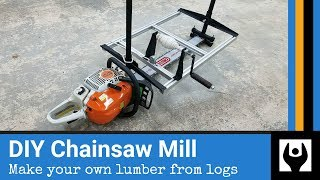 How to Build a Chainsaw Mill from Scratch