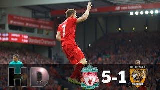 Liverpool Vs Hull City 51 All Goals HD EPL 24 9 2016