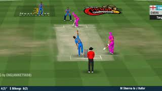 T20 Match India vs England at 20 overs Match