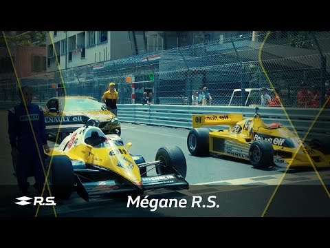We celebrate our 40th anniversary in F1 with the New Mégane R.S. at Monaco GP