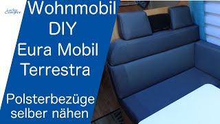 Wohnmobil | DIY | Polsterbezüge selber nähen | Lucky Camper