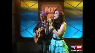 Anna Nalick - Shine (Live in Good Day NY)