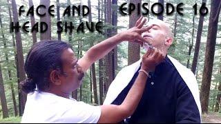 World's Greatest Head Massage 41 - Binaural Head And Face Shave - Baba Cosmic Barber & ASMR Barber