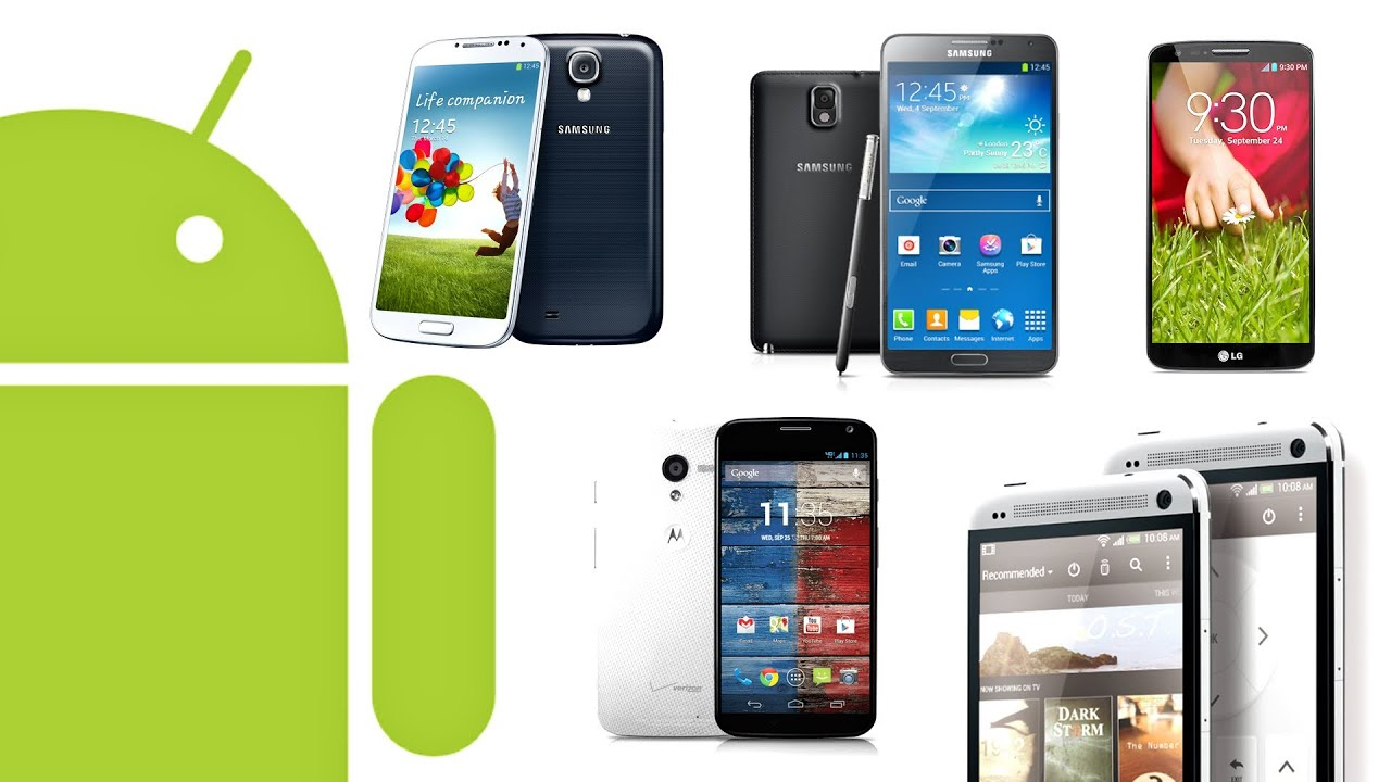 Top 5 Best Android Smartphones 2013 thumbnail