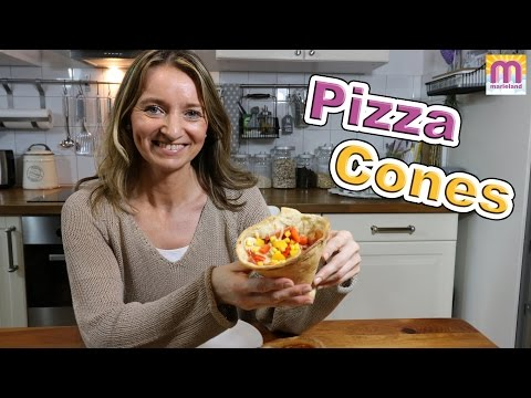 PIZZA CONES Pizza essen wie Döner DIY marieland