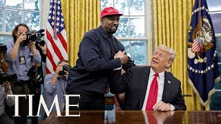 President Donald Trump Meets Kanye West For Lunch At The White House   TIME