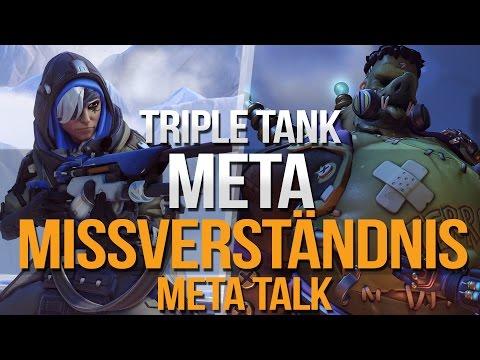 Meta Missverständnis | Triple Tank im Detail | Overwatch Meta Talk | Deutsch