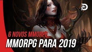 6 INCRÍVEIS NOVOS MMORPG PARA JOGAR EM 2019