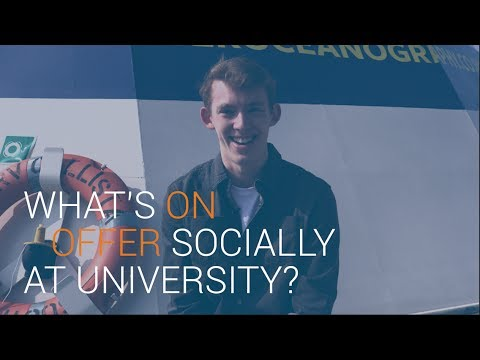 What's on offer socially at University? | University of Southampton