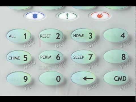 DMP Keypad Training Videos - Shortcut Keys - Residential