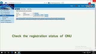 How to configure the ONU registration mode on VSOL OLT