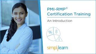 PMI-RMP® Training Videos: Lesson 1 | Simplilearn