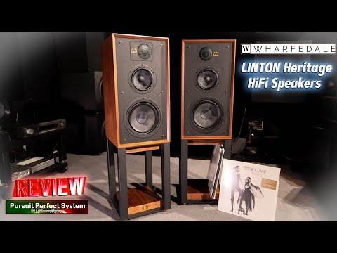 External Review Video JoJWRmG5EDk for Wharfedale Linton Heritage Bookshelf Loudspeaker