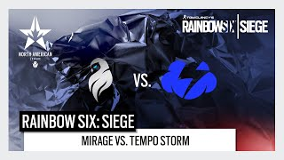 Rainbow Six North American League: North American Major Qualifiers - Mirage vs. Tempo Storm