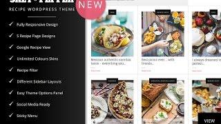 Salt & Pepper - Food Recipes Blog WordPress Theme - Food Recipes Cooking Website Template