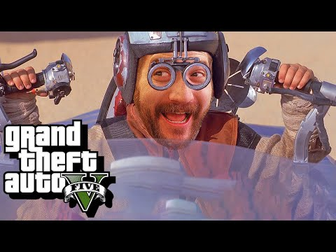 Now This Is (not) Podracing! - GTA 5 Funny Moments