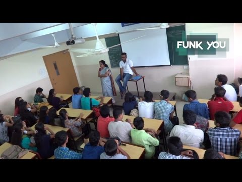 BEST CLASSROOM PRANK EVER!!! Professor Stabbed in Lecture