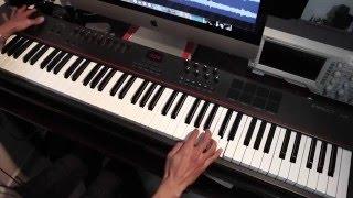 Regret #9 - Steven Wilson / Adam Holzman Keyboard Solo Cover