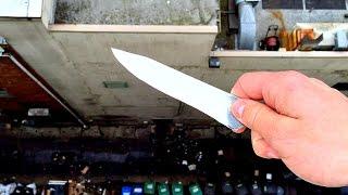 Dropping KNIFE From 100FT!! WillitBREAK?