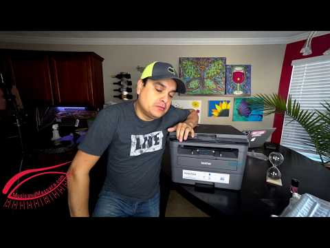 Brother HL- 2390 DW Laser Printer Unboxing and Setup Review