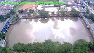 Drone MJX Bugs 4W - View of Jembatan Gantung , Jakarta Barat