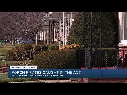Eastpointe neighbor spots porch pirates, tracks them down to recover items
