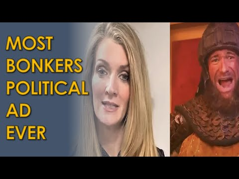 Republican Kelly Loeffler says she's 'more conservative than Attila the Hun' in CRAZY ad