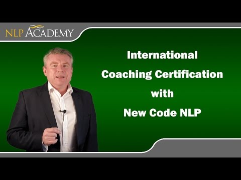 John Grinder, International NLP Coaching Certification - YouTube