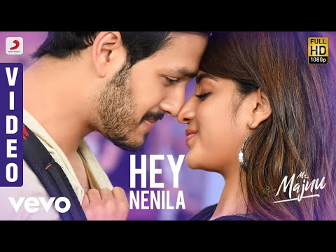 Mr Majnu Hey Nenila Telugu Video Akhil Akkineni Nidhhi Thaman S