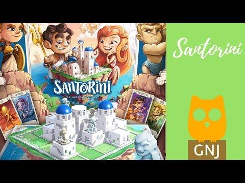 Santorini szerintem - Gond Nem Játék Társasjáték Blog